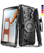 For LG K7 2016 / LG Tribute 5 Hard Shockproof Case Cover Clip Holster Ki... - $12.50