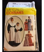 Pilgrim Prairie Dress Bonnet Costume Pattern McCalls 8335 Americana Wear... - $9.99