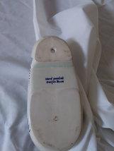 "Vintage 7"" Delft Blue Porcelain Dutch Shoe Hand Painted Windmill Holland  Hole  image 4"