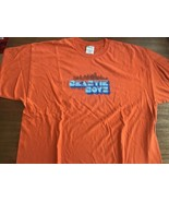 "beastie boys t-shirt vintage Five 5 boroughs XXL 90's Orange rare 31"" Long - $87.39"