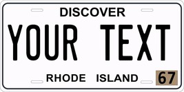 Rhode Island 1967 License Plate Personalized Custom Auto Bike Motorcycle... - $10.99+