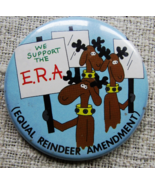 Reindeer or Kennedy Button Pins - $1.50