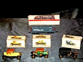 Miniature antique Cars and Locomotive  AA19-1512 image 3