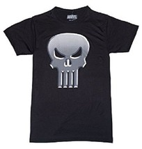 Marvel Comics The Punisher Adult Mens Black Tee T-Shirt - $21.00