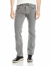 Levi's 501 Men's Original Straight Leg Jeans Button Fly Grey 501-2370