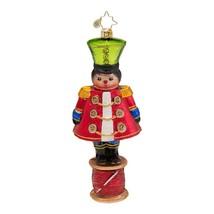 Christopher Radko Glass Military Spool and Needle Christmas Ornament #10... - $57.42
