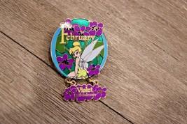 Disney Campanilla Flor Colección 2007 Febrero Violet Faithfulness Pin Le - $10.80