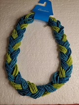 Rainbow Strand Seed Bead Necklace Women's Glass Chain Jewelry Fashion Accessory - $11.50