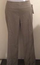 NWT $135 Calvin Klein Coblestone Cropped Dress Pants Size 6 - $22.50