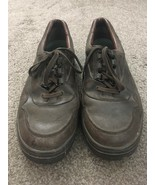 Mens Mephisto Walking Shoes Air Bag System Brown US Size 10.5, Made In F... - $57.99
