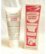 Elizabeth W FLOWER MARKET Hand Cream SMALL BATCH PRODUCTIONS 3.3 Oz - $22.00