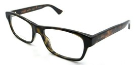 Gucci Eyeglasses Frames GG0006O 009 53-18-145 Havana Made in Italy - $151.90