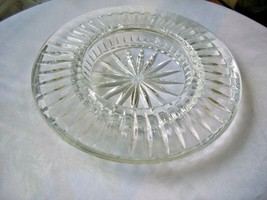 """Full Lead Crystal Votive Candle Holder Tray 7"""" Wide - $17.82"""