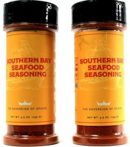 2 Ct Castle Southern Bay Seafood Seasoning 5.5 oz Sovereign Of Spices BB... - $23.99
