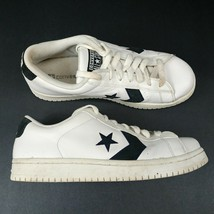 VTG Converse All Star Low Top Shoes Sneakers White Black AJ068 Mens Size 12 - $37.36