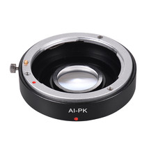 Optical Glass Lens Mount Adapter Ring with Corrective Lens for Nikon AI ... - $28.48