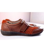Naturalizer N5 Comfort Blair Loafers Women's Size 6 M Brown Leather Shoes - $35.56