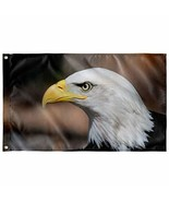 """Unique Gifts Store Bald Eagle - Wall Flag 36""""x60"""" - $21.95"""
