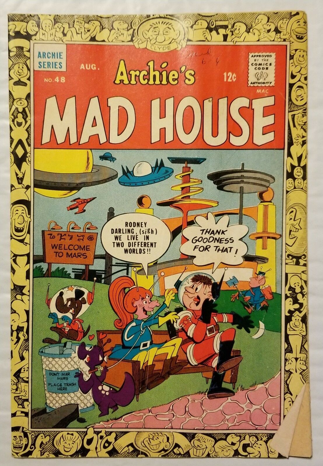 Primary image for Archie Comics VMad House #48 1966