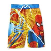 Spiderman Marvel UPF-50 + Costume da Bagno Pantaloncini Nuoto Nuova con - $16.70
