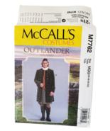 M7762 McCall's Costumes Outlander Renaissance Coats Mens 46 - 52  Patter... - $14.95