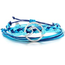 3PCS/SET 2018 Handmade Colorful Cotton Rope Surfer Bracelets Popular Boh... - $15.07