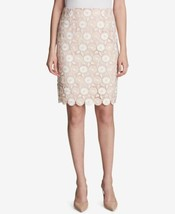 Calvin Klein Women's Lace Pencil Skirt (Blush, 10) - $125.28