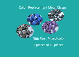 Colors Replacement Metal Clasps For Fitbit Flex Band Wristband Bracelet - $2.95+