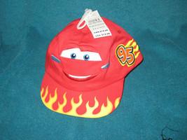 NEW Disney Store Cars Lightning McQueen Red Kids Baseball Hat Cap 0 to 6 months - $12.38