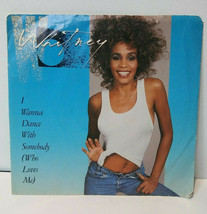 Whitney Houston I Wanna Dance With Somebody 45 1987 Picture Sleeve Vinyl... - £8.58 GBP
