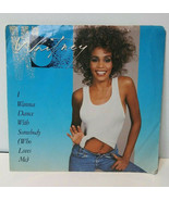 Whitney Houston I Wanna Dance With Somebody 45 1987 Picture Sleeve Vinyl... - $11.69