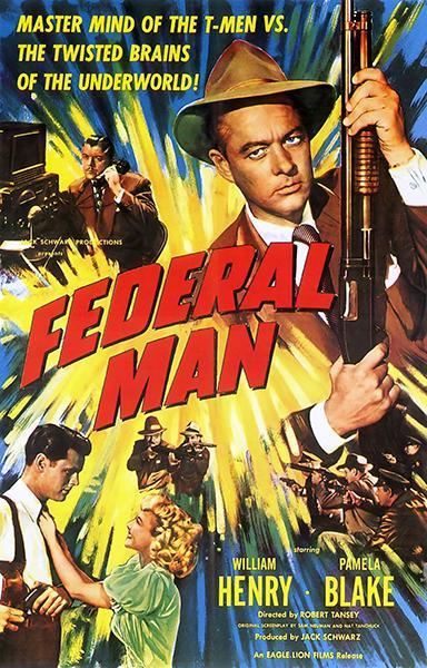 Primary image for Federal Man - 1950 - Movie Poster