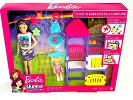 Barbie Babysitters Playground Playset Skipper Toddler New In Box - $46.52