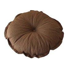 Flower Floor Pillow Seating Cushion for Reading Nook/Bed Room/Watching TV,Brown - $21.07