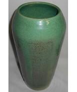 RARE 1948 California Potter NORMAN JAE Stoneware Vase GEOMETRIC PATTERN - $296.99