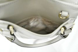 NWT Brahmin Mini Priscilla Smooth Leather Satchel/Shoulder Bag in Sand Topsail image 7