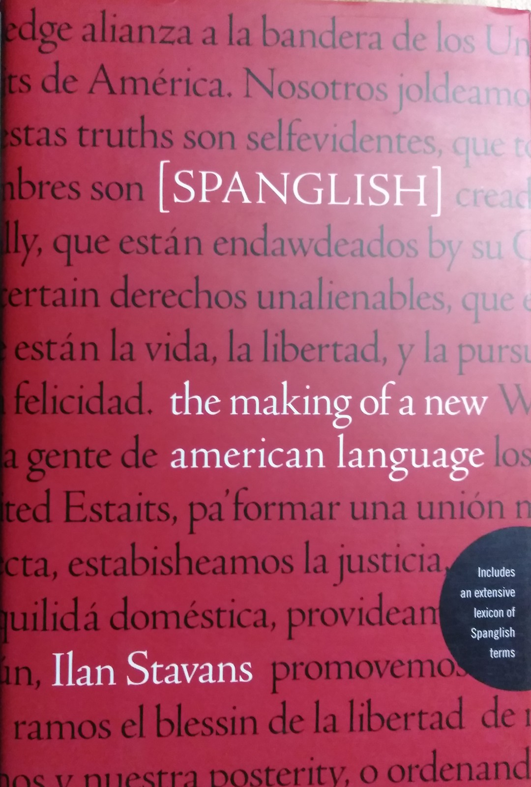 Primary image for 443 Book Spanglish English Book