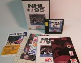 NHL 96 (Sega Genesis, 1995) Box manual papers game NMINT - $11.64