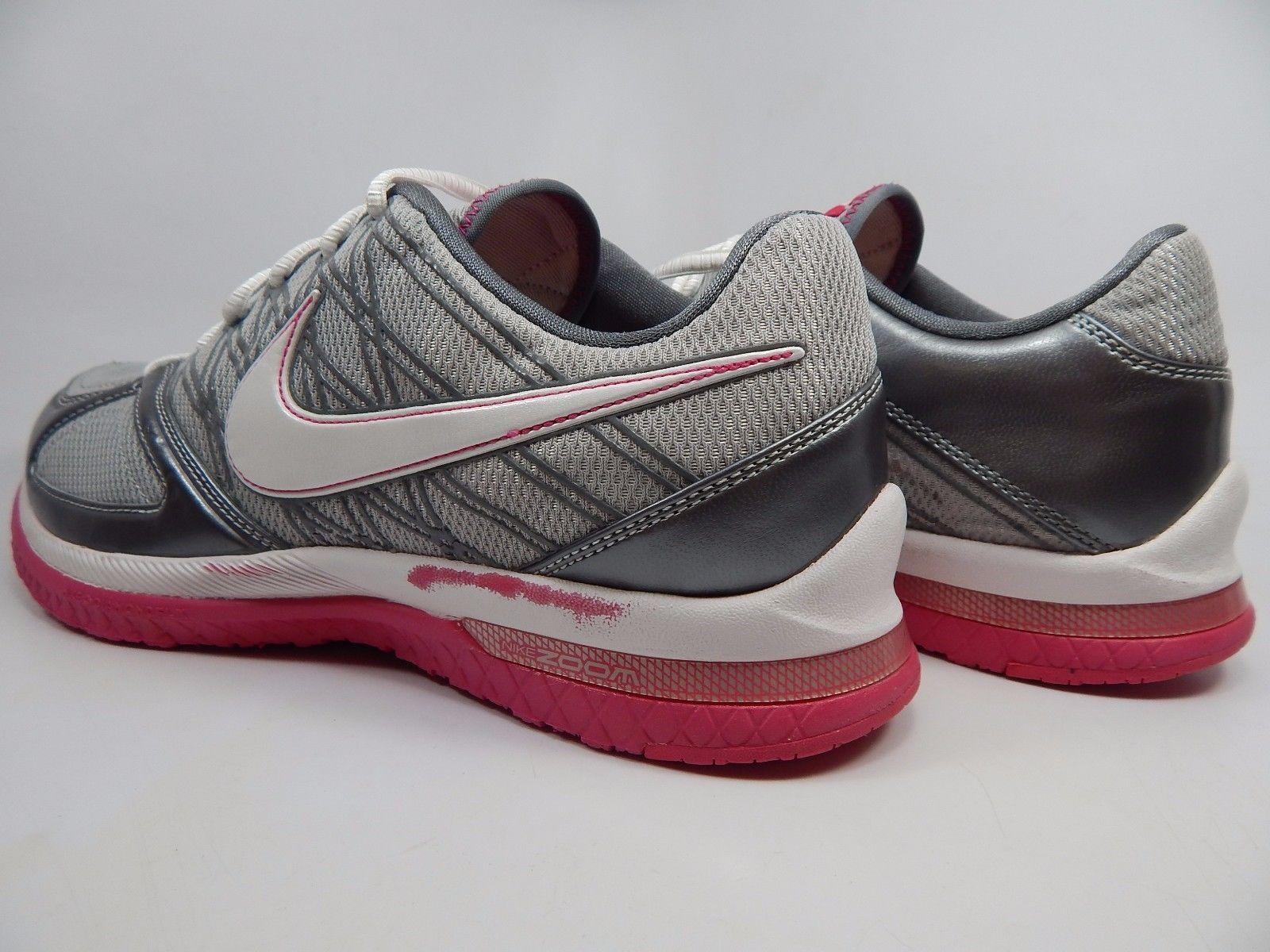 Nike Zoom Quick Sister+ Women's Shoes Size US 9.5 M (B) EU 41 Silver 344952-012
