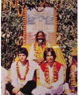 Beatles 2-Sided Poster Paul McCartney George Harrison - $11.64
