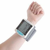 Bluestone Automatic Wrist Blood Pressure Monitor w Digital LCD Display 8... - $24.74