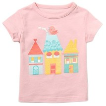 HOUSE Pure Cotton Infant Tee Baby Toddler T-Shirt PINK 90 CM (12-18M)