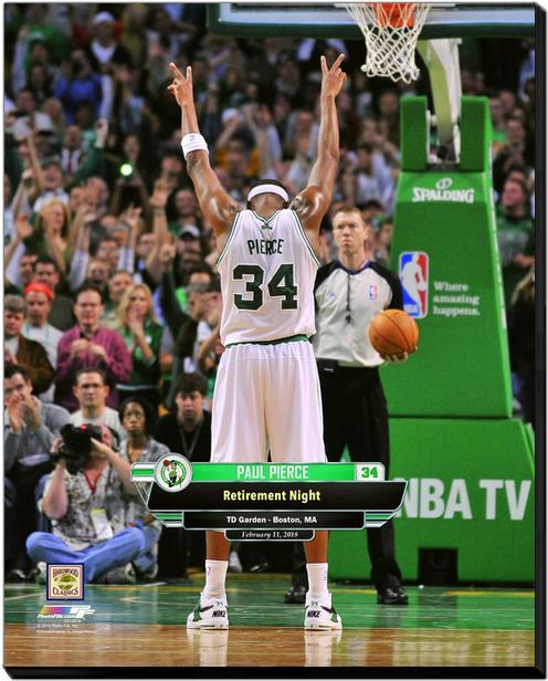san francisco d2c70 4c904 Paul Pierce Celtics Jersey Retirement and 50 similar items