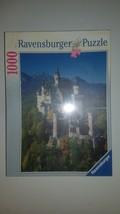 """New Ravensburg Jigsaw Puzzle 1000 piece Neuschwanstein Castle 20"""" x 27""""  - $35.98"""