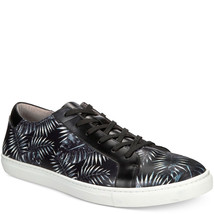 Kenneth Cole New York Mens Kam Palm Leaf Sneakers Black 9.5 D MSRP 125 New - $86.02