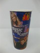Vintage McDonald's 2000 Britney Spears NSYNC Unused Cup Promo - $27.71