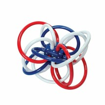 Manhattan Toy Winkel Rattle & Sensory Teether Toy Red, White & Blue - $16.99