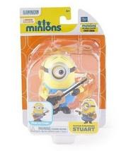 Minions Guitar Strumming Stuart Wind Up Figure NIB by Thinkway Toys - $18.55