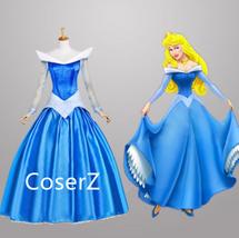 Sleeping Beauty Princess Aurora Blue Dress - $135.00
