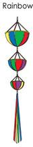 Rainbow Large Size Spin Basket (Windsock) TG 28012 - $10.99